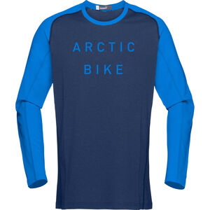 Norrøna Fjørå Equaliser Lightweight Long Sleeve Shirt Men Indigo Night/Hot Sapphire bei fahrrad.de Online