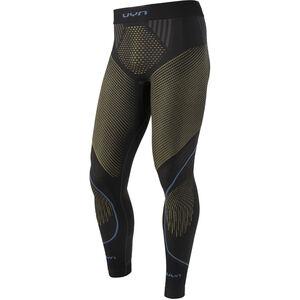 UYN Evolutyon UW Long Pants Herren charcoal/gold/atlantic charcoal/gold/atlantic