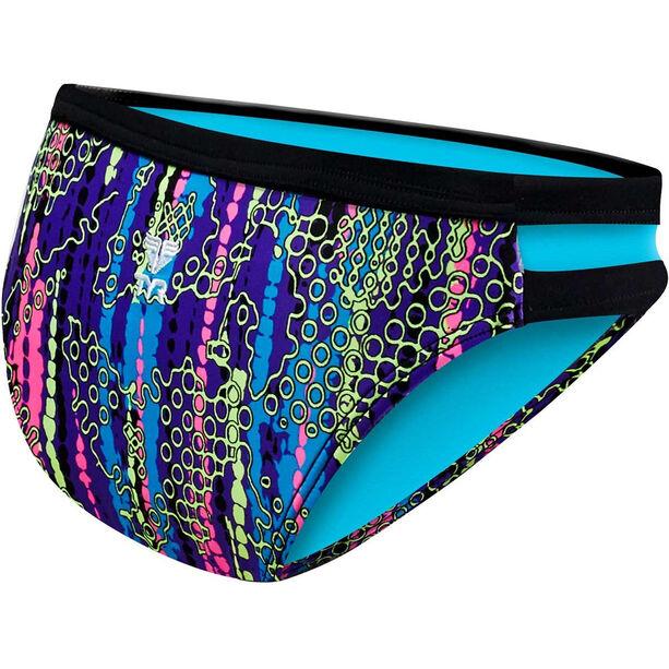 TYR Hiromi Cove Mini Bikini Pants Damen black/multi