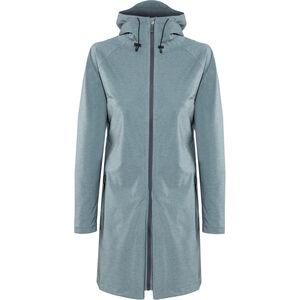 AGU Seq Rain Jacket Damen steel blue steel blue