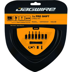 Jagwire 1X Pro Shift Schaltzugset stealth black stealth black