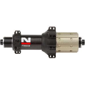 Novatec Ultralight Hinterradnabe Rennrad Carbon 11s Shimano schwarz schwarz