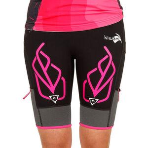 KiWAMi Equilibrium Trail Shorts Damen black/pink black/pink