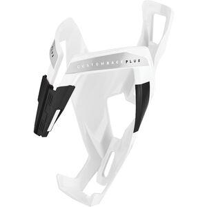 Elite Custom Race Plus Flaschenhalter weiß glänzend/schwarze grafik weiß glänzend/schwarze grafik
