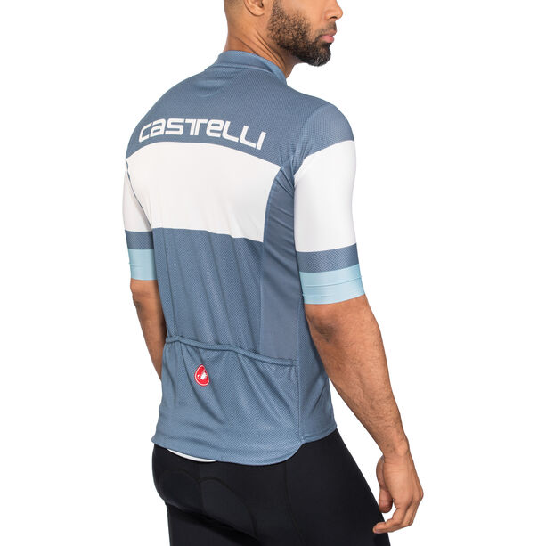 Castelli Ruota FZ Jersey Herren light/steel blue