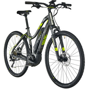 HAIBIKE SDURO Cross 4.0 Damen Anthrazit/Schwarz/Lime bei fahrrad.de Online