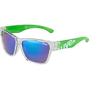 UVEX Sportstyle 508 Sportglasses Kids clear green/green clear green/green