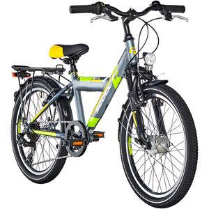 s'cool XYlite 20 7-S steel Darkgrey/Lemon Matt bei fahrrad.de Online