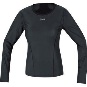 GORE WEAR M Gore Windstopper Base Layer Langarmshirt Damen black black