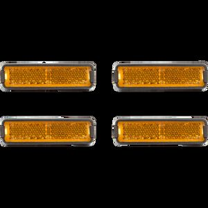 Cube RFR Pedalreflektor-Set orange bei fahrrad.de Online