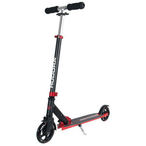 HUDORA Bold Wheel L City Scooter rot/schwarz