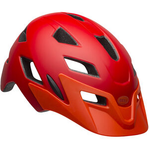 Bell Sidetrack Helmet Kinder matte red/orange matte red/orange