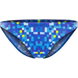 Turbo Pixels Bikini Bottom Women Blue