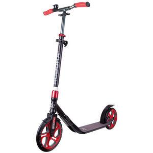 HUDORA CLVR City Scooter Kinder schwarz/rot schwarz/rot