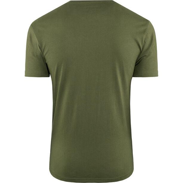 Fox Midway Airline Kurzarm T-Shirt Herren olive green