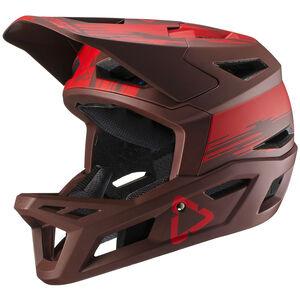 Leatt DBX 4.0 Super Ventilated Full Face Helmet ruby ruby