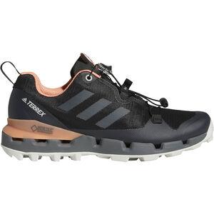 adidas TERREX Fast GTX-Surround Shoes Damen core black/grey five/chalk coral core black/grey five/chalk coral