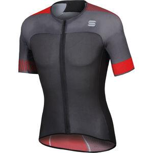 Sportful Bodyfit Pro 2.0 Light Jersey Herren anthracite/black/red anthracite/black/red