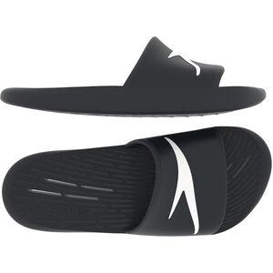 speedo Slides Herren black black