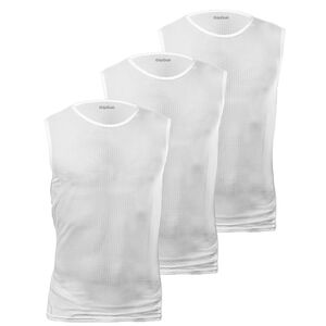 GripGrab Ultralight SL Mesh Baselayer Unisex 3-Pack white