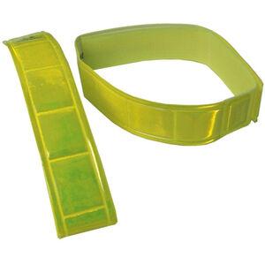 Wowow Hosenband Signalfarbe mit Klettverschluss 1 Paar gelb gelb