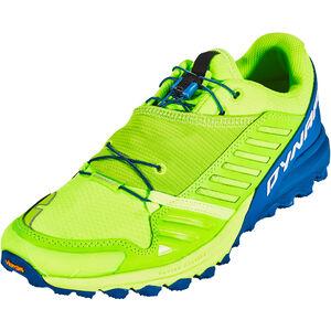 Dynafit Alpine Pro Shoes Men fluo yellow/mykonos blue