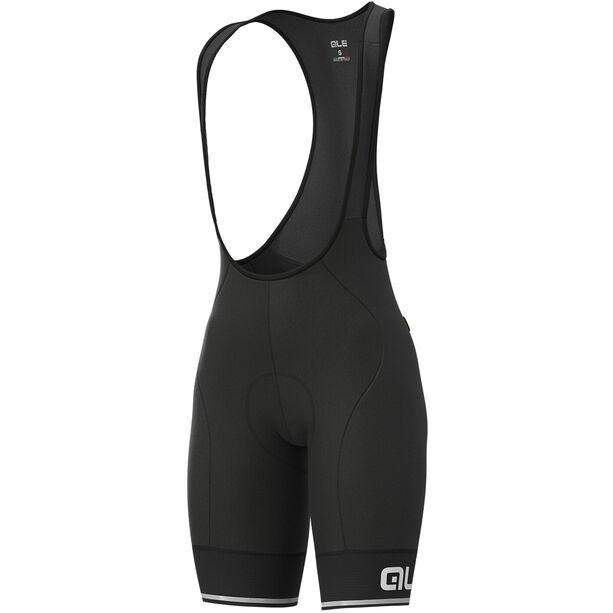 Alé Cycling Solid Blend Trägershorts Damen black/white