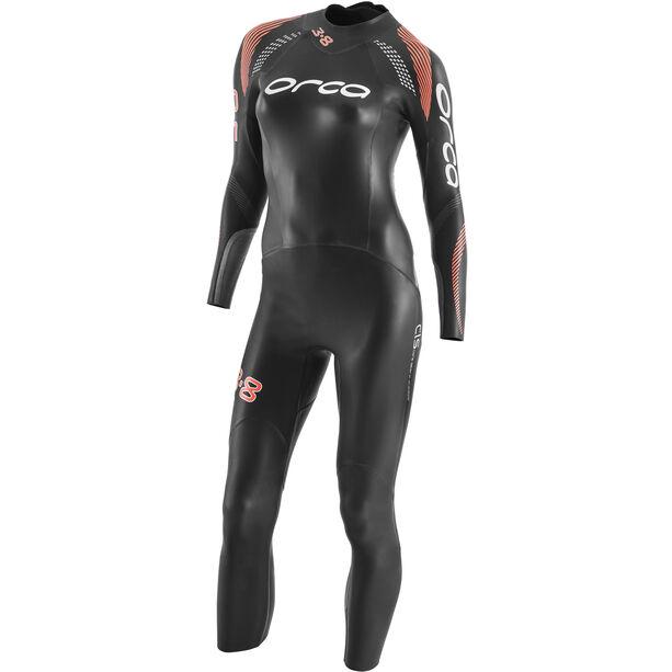 ORCA 3.8 Enduro Fullsleeve Wetsuit Damen black