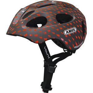 ABUS Youn-I Helmet Kinder grey lightning grey lightning