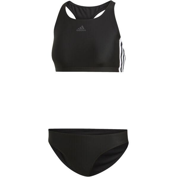 adidas Fit 3-Stripes Infinitex Bikini Damen black