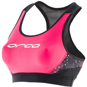 ORCA Core Support Bra Women Black/Merengue