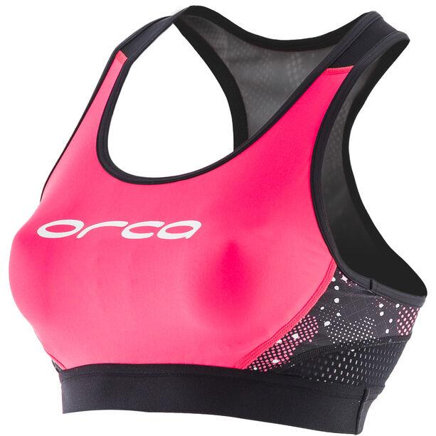 ORCA Core Support Bra Damen black/merengue