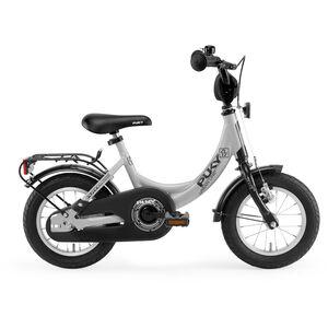 "Puky ZL 12-1 Alu Fahrrad 12"" Kinder lichtgrau/schwarz lichtgrau/schwarz"