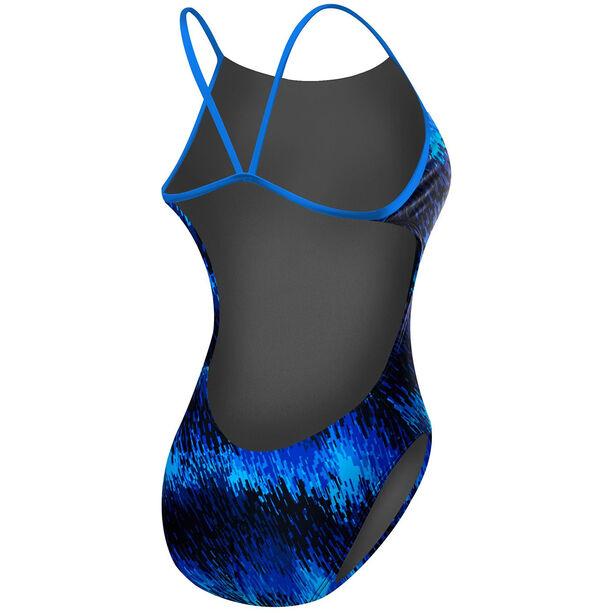 TYR Perseus Cutoutfit Bathing Suit Damen blue