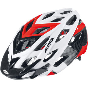 Alpina D-Alto Helmet white-black-red white-black-red