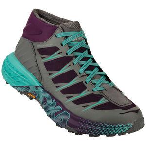 Hoka One One Speedgoat Mid WP Running Shoes Women grape/royale/alloy bei fahrrad.de Online