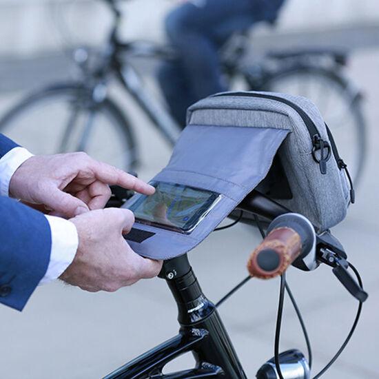KlickFix Smart Bag Touch grau bei fahrrad.de Online