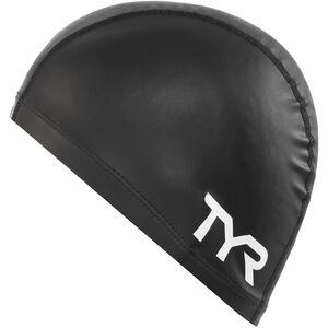 TYR Silicone Comfort Swimming Cap black black