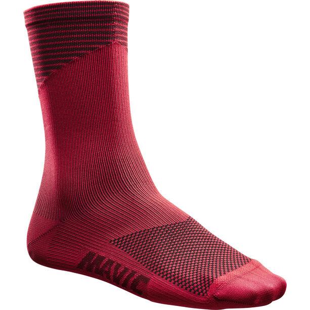 Mavic Graphic Socken haute red