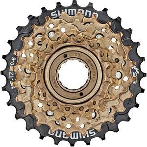 Shimano MF-TZ500 Schraubkranz 6-fach braun/schwarz bei fahrrad.de Online