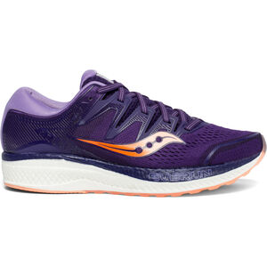saucony Hurricane ISO 5 Schuhe Damen purple/peach purple/peach