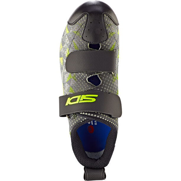 Sidi T-5 Air Carbon Schuhe Herren grey/yellow/black