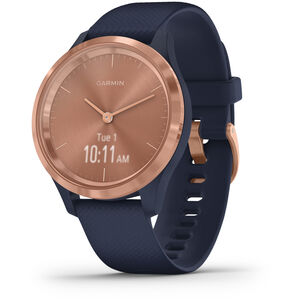 Garmin Vivomove 3S Smartwatch blue/rose gold blue/rose gold