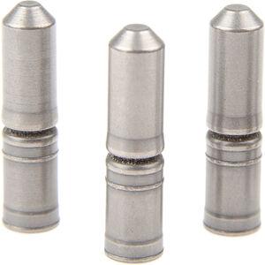 Shimano Kettennietstifte 9-fach 3 Stück silber silber