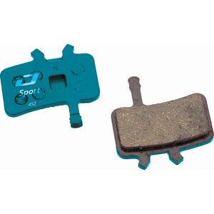 Jagwire Sport Organic Bremsbeläge für Avid BB7 / Alle Juicy Modelle 1 Paar blau