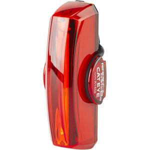 CatEye TL-LD710GK Rapid X2G Kinetic LED Rücklicht mit Bremslichtfunktion schwarz/rot schwarz/rot