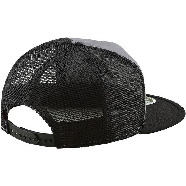 Troy Lee Designs Blockworks Snapback Hat storm gray/blue
