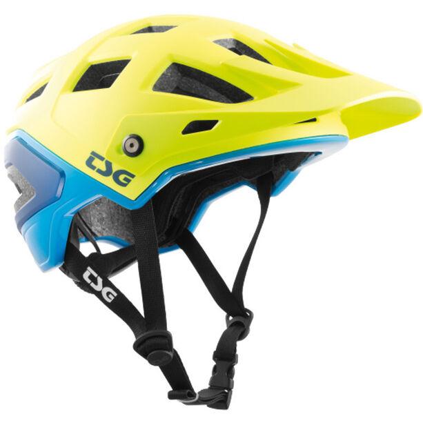 TSG Scope Graphic Design Helmet Herren acid yellow-blue