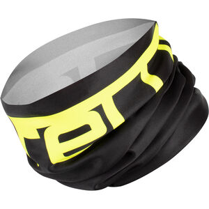 Castelli Viva Thermo 2 Head Thingy Multifunktionaler Nackenwärmer black/yellow fluo black/yellow fluo