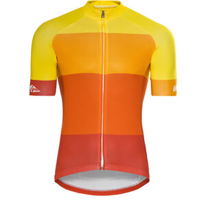 Red Cycling Products Colorblock Race Jersey Herren red-yellow red-yellow